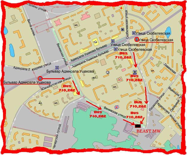 как доехать от метро бульвар адмиралв ушакова до ул аоляны 50