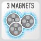 Магниты сумки GIVI MT504