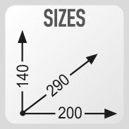 Размеры сумки GIVI CRM103
