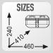 Размеры кофра GIVI DLM30A