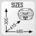 Размеры кофра GIVI E340N