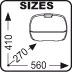 Размеры кофра GIVI E36N
