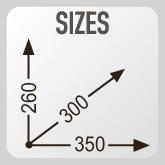 Размеры сумки GIVI EA117