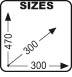 Размеры сумки GIVI T477