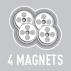 Магниты сумки KAPPA LH200