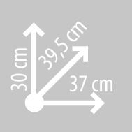 Размеры кофра KAPPA K25ITA