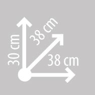 Размеры кофра KAPPA K26N