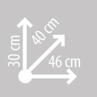 Размеры кофра KAPPA K28N