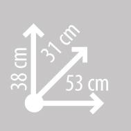 Размеры кофра KAPPA K33N