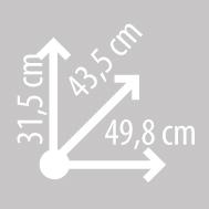 Размеры кофра KAPPA K37N