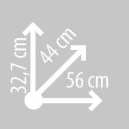 Размеры кофра KAPPA K46N902