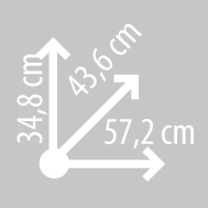 Размеры кофра KAPPA K47NT