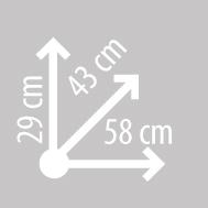Размеры кофра KAPPA K48N