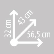 Размеры кофра KAPPA K49N