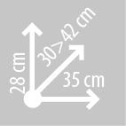 Размеры сумки на бак KAPPA LH201