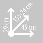 Размеры кофров KAPPA LH202