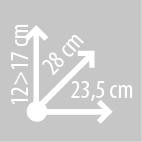 Размеры кофров KAPPA LH203R