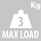 Грузоподъемность кофра KAPPA K355N
