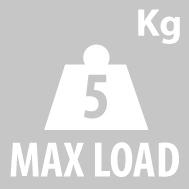 Грузоподъемность кофра KAPPA K21N