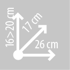 Размеры сумки на бак KAPPA RA301