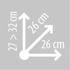 Размеры сумки на бак KAPPA RA302