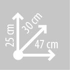 Размеры кофров KAPPA RA303
