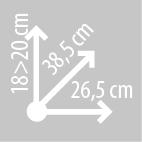 Размеры сумки на бак KAPPA RA311R