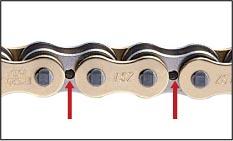 Перфорированные пластины цепей EK